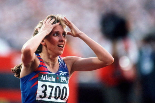 UNITED STATES - JULY 29:  LEICHTATHLETIK: Frauen 800m/ATLANTA 1996 am 29.7.96, Svetlana MASTERKOVA - RUS/GOLD  (Photo by Henri Szwarc/Bongarts/Getty Images)